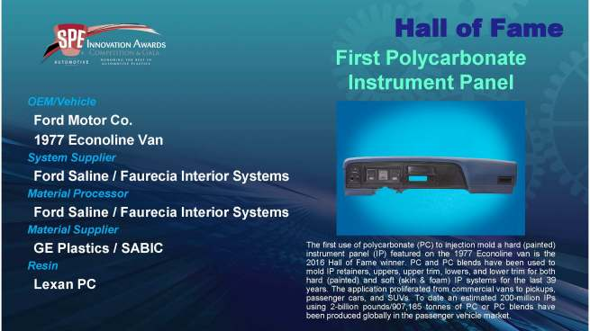 hof-first-polycarbonate-instrument-panel
